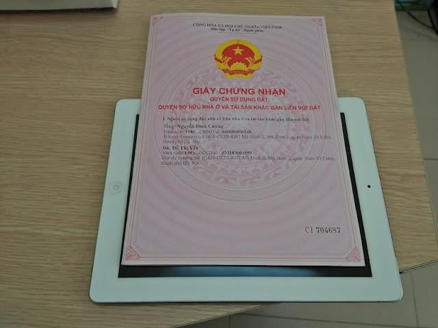 Nguyễn Đình Cường Sổ Đỏ