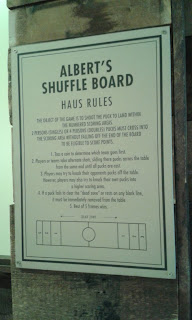 The rules of Shuffleboard