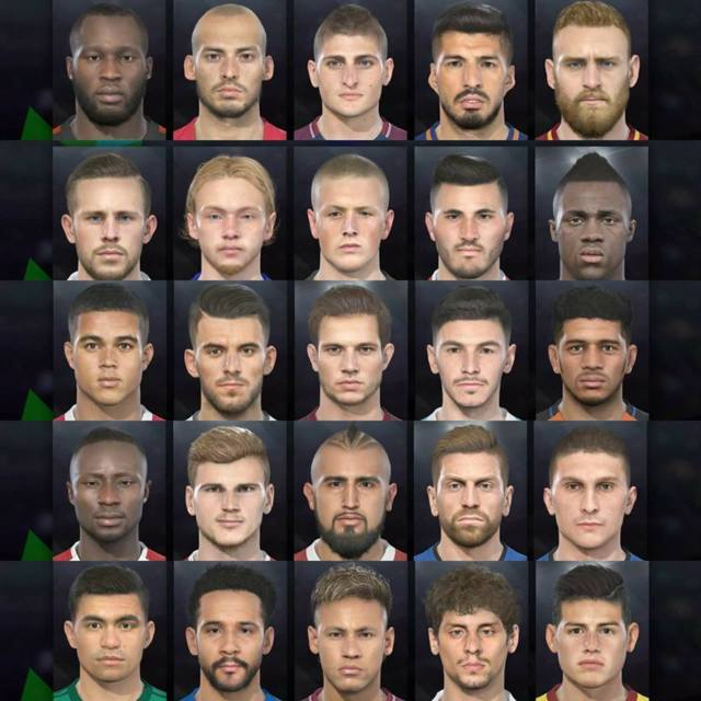 Data Pack 1.0 Faces For PES 2018 CPY Version
