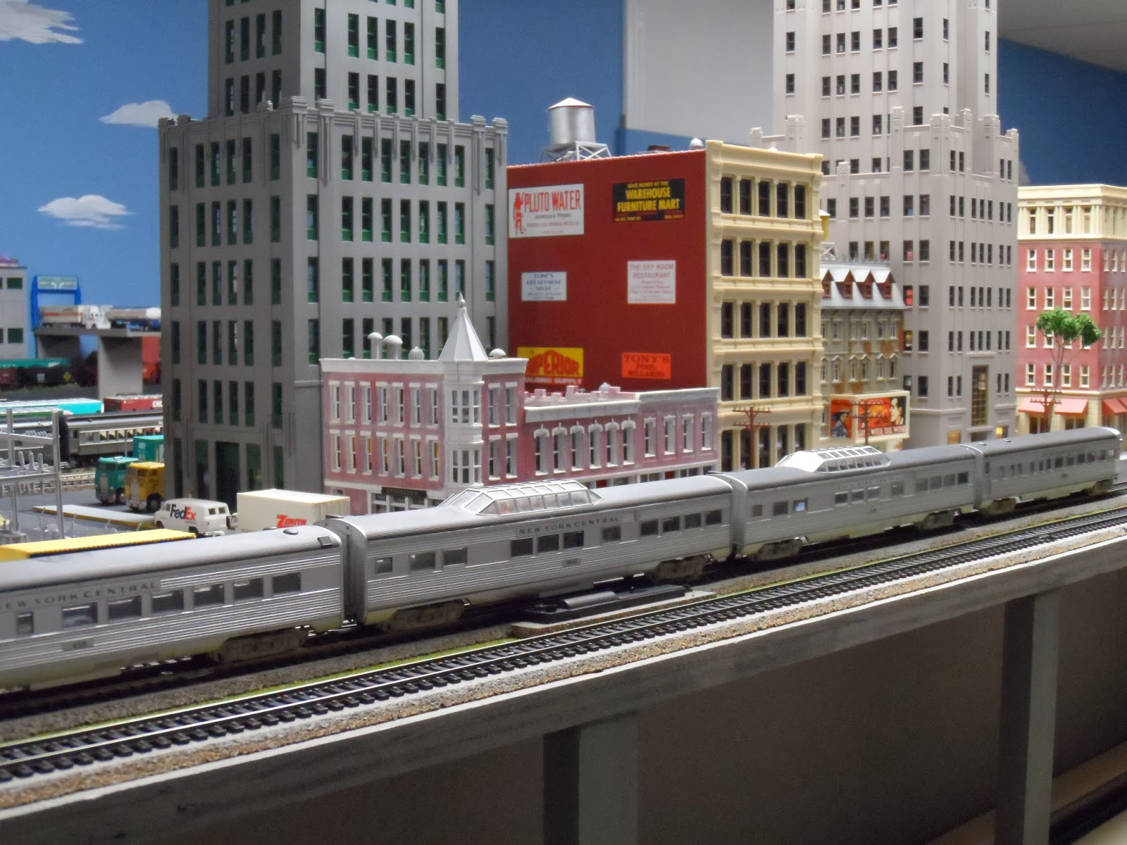 New York Central Train Layout: Updated New York Central