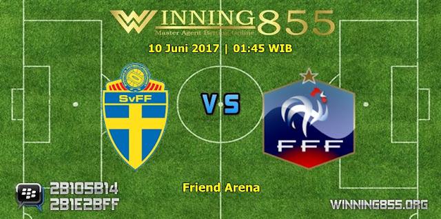 Prediksi Skor Swedia vs Perancis 10 Juni 2017