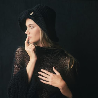 Retrato da atriz Peggy Lipton