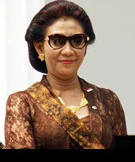 Gambar Menteri Kelautan dan Perikanan Susi Pudjiastuti