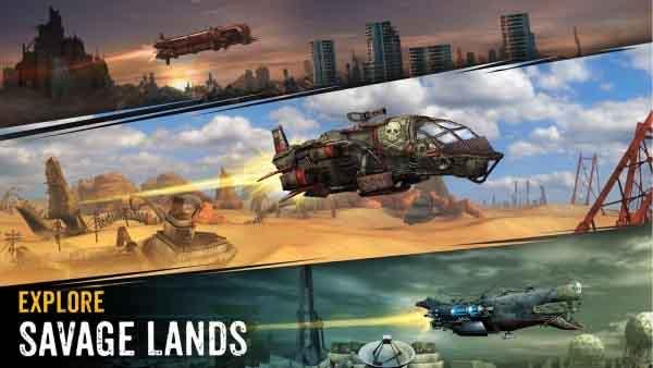 Sandstorm: Pirate Wars v1.19.2 Mod Apk (Unlimited Energy)