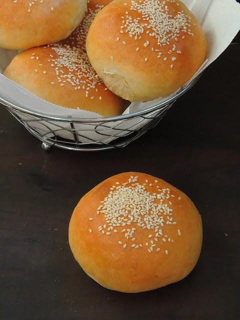 Mexican Sesame Seeds Buns, Cemita Rolls