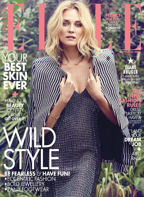 ELLE Canada september 2015 Diane Kruger