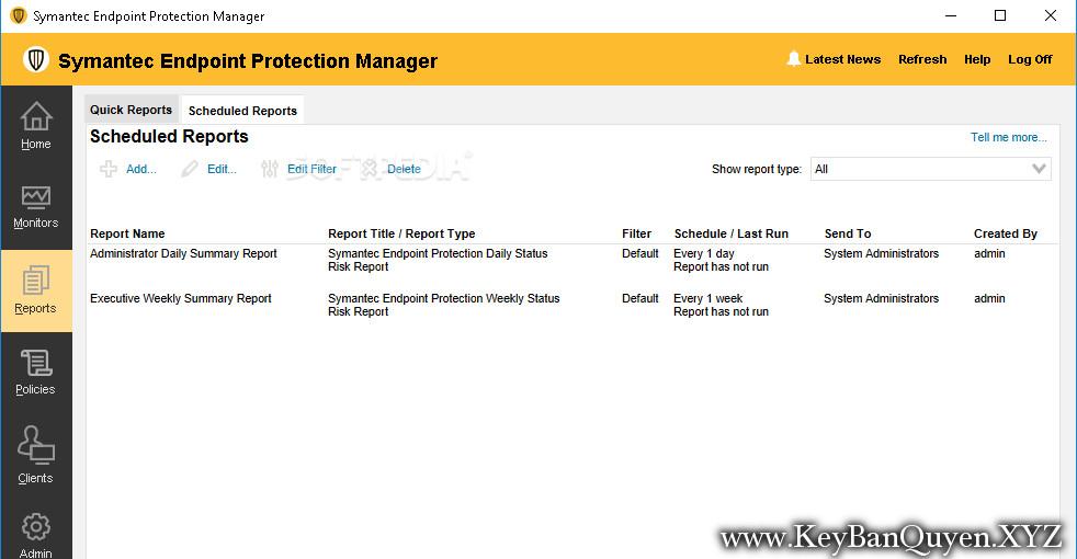Symantec Endpoint Protection 14.2.1023.0100 Full Key, Phần mềm diệt Virus cho máy chủ.