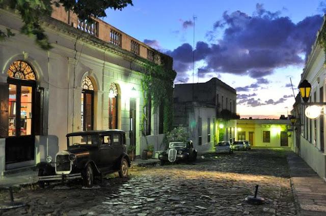 Estrutura da Colonia del Sacramento no Uruguai