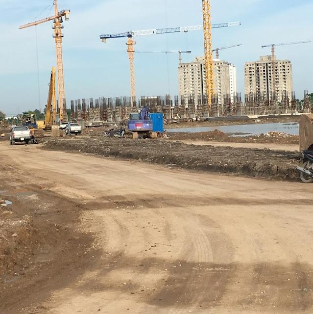Tiến độ xây dựng chung cư b13 Thanh Hà tòa HH03Acập nhật ngày 27/7 năm 2017