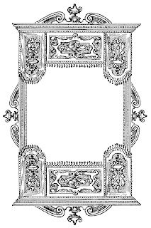 frame border drawing artwork image clip art illustration