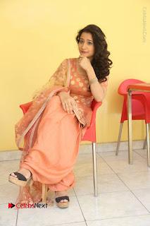 Telugu Actress Santoshi Sharma Latest Stills in Salwar Kameez at HBD Movie Teaser Launch  0117.JPG