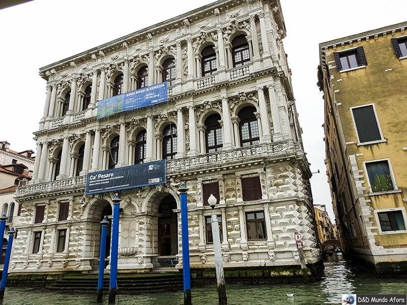 Ca' Pesaro - Vaporetto em Veneza: como se locomover em Veneza