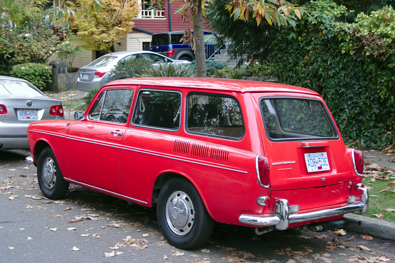 1968 Volkswagen Type 3 Squareback: Old Parked Cars Vancouver: Type 3