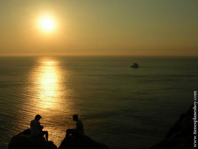 Atardecer Cabo Finisterre Galicia