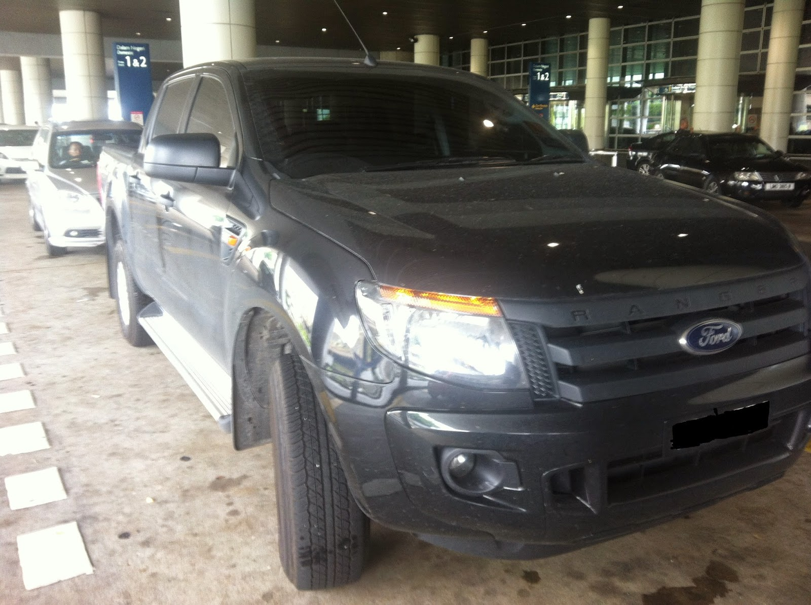 rent ford ranger klia
