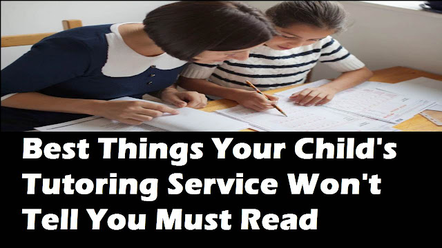child's tutoring