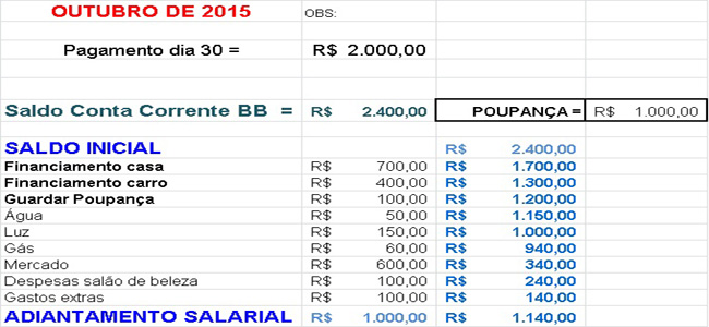 TABELA DO EXCEL 9