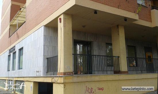 Ernesto arag n pintura para el hogar pintar una fachada - Se puede pintar el aluminio ...