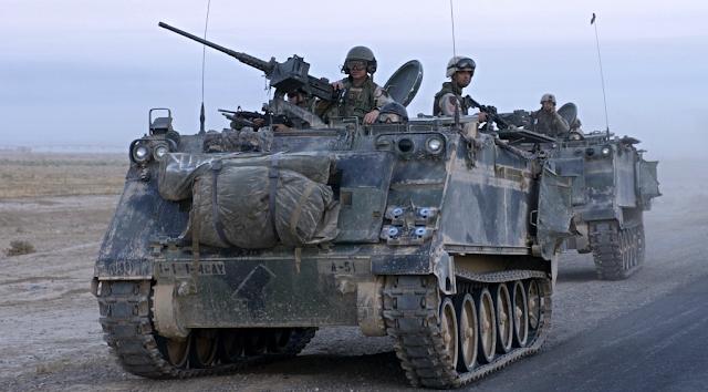 Αποτέλεσμα εικόνας για m-113 armored personnel carrier