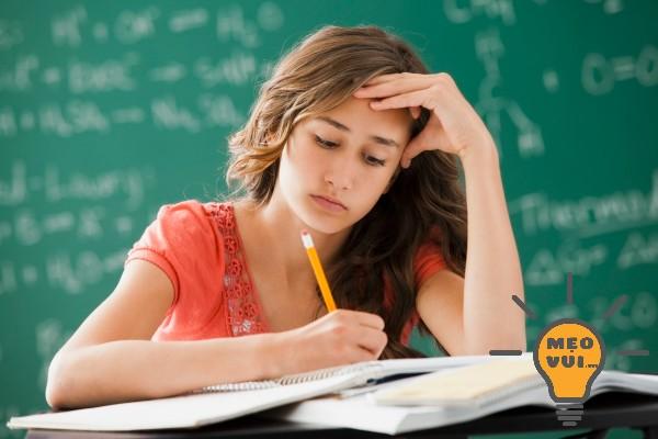 Những sai lầm học sinh cuối cấp thường mắc phải