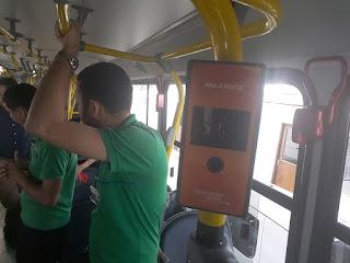 Transporte coletivo de Campina Grande instala biometria facial