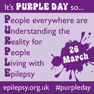 Purple Day 2018 French Village Diaries talking about Epilepsy