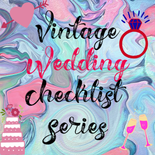 Vintage Wedding Checklist Series