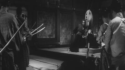 Harakiri, Hanshiro Tsugomo Seizes and Destroys Iyi Clan Idle, Directed by Masaki Kobayashi