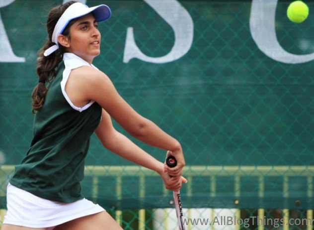 2. Iman Qureshi: Youngest Tennis Player of Pakistan