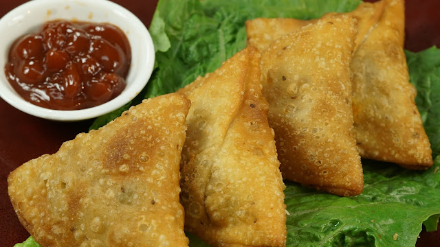 Chicken-keema-Samosa-Recipe