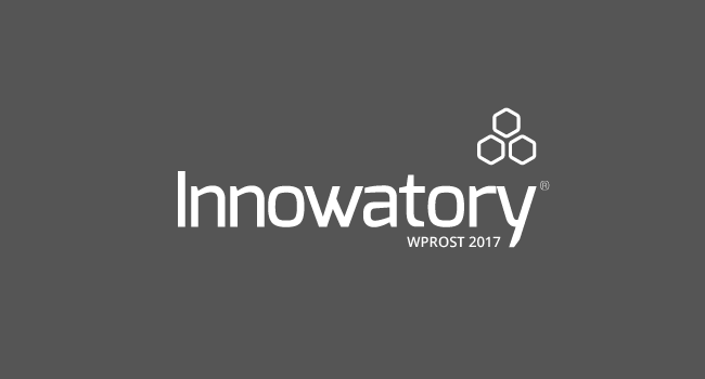Logo konkursu Innowatory Wprost 2017