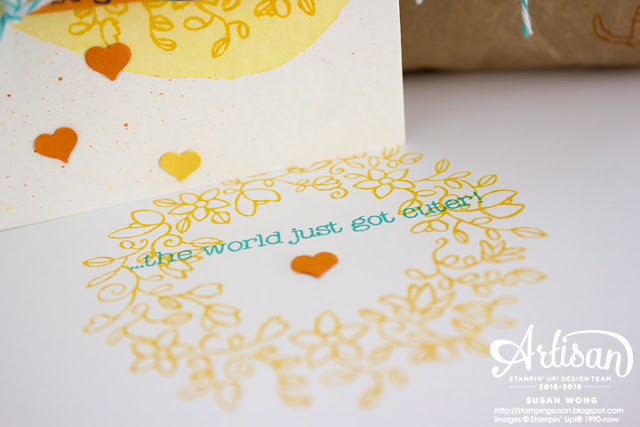 Circle of Spring + Made with Love Envelope ~ Susan Wong