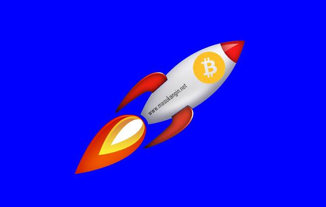 Harga Bitcoin Melonjak Tinggi Hingga Mencapai $ 4.000