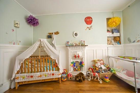 Lindo dormitorio para bebé