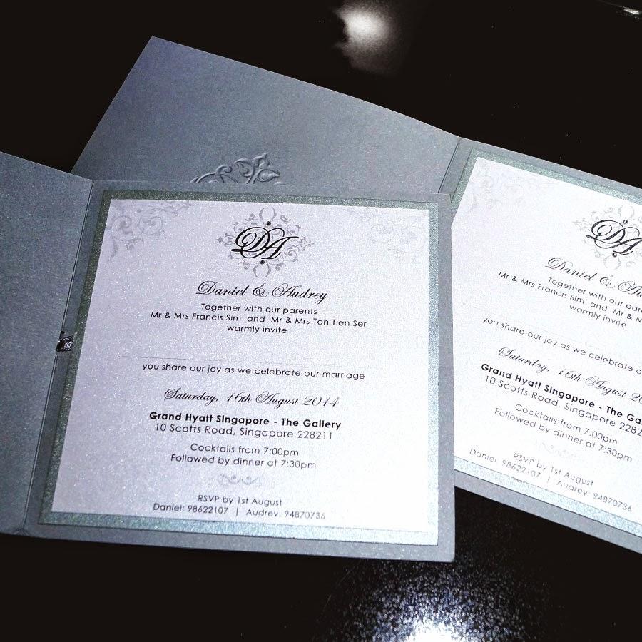 Sponsored Wedding Invitation
