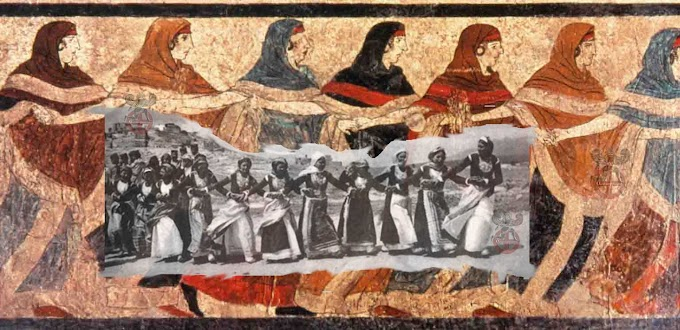 Ο αρχέγονος  χορός της Τράτας των Μεγαρέων