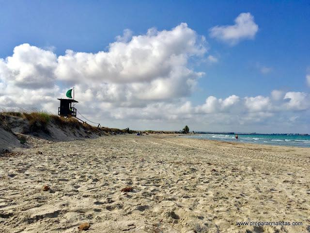 playa murcia españa