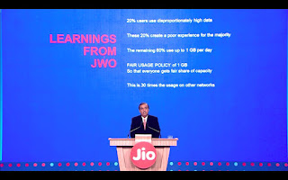 1GB Per Day Data limit on Jio Happy New year offer