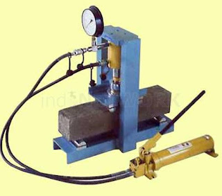 JUAL- HYDRAULIC CONCRETE BEAM TESTING MACHINE (CO-330)