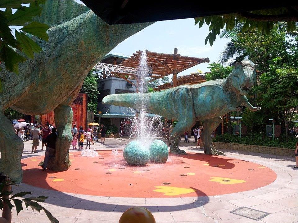 Jurassic Park Area Universal Studios Singapore