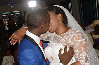 image result for viral photos of man squeezing wife's breast