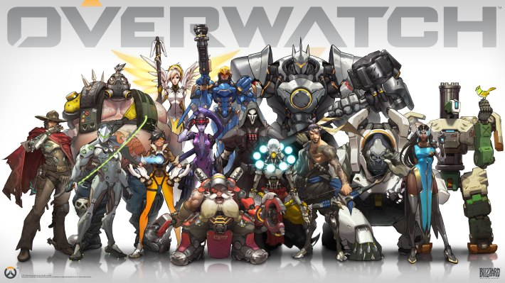 Overwatch Heroes HD