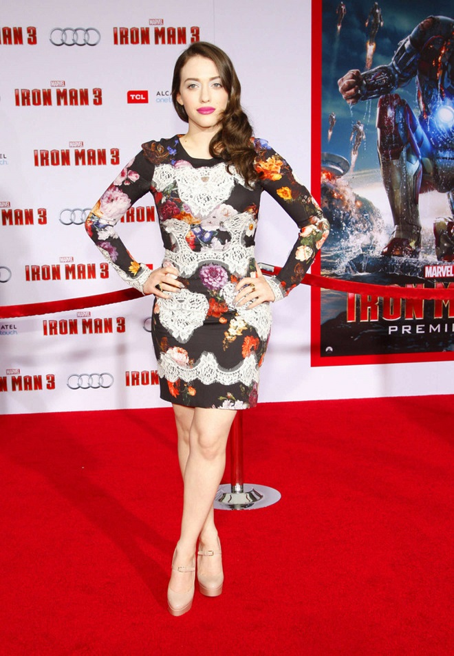 "Kat Dennings - ""Iron Man 3"" Premiere in Hollywood"