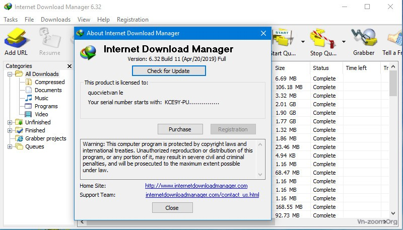 idm full serial key free download