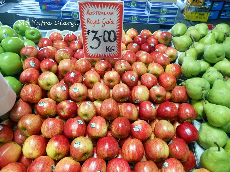 Apples at Queen Victoria Market, Melbourne