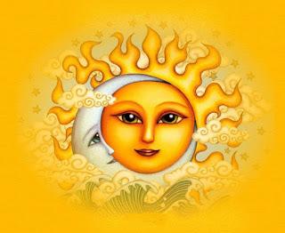 Αποτέλεσμα εικόνας για ηλιος και φεγγαρι μαζι
