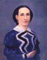 Dibujo de la mamá de José de San Martín a color