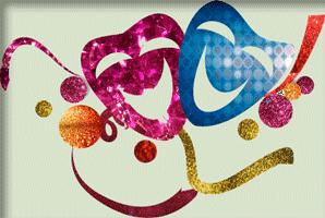 Decoração festa de Carnaval