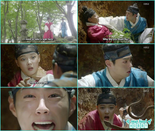 prine threaten Ra On to show him which nobel family he is from and fell into ditch - Love in the Moonlight - Episode 1 Review