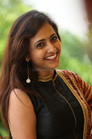 Lasya looks super cute in black choli Saree at Raja Meru Keka Press Meet ~  Exclusive 010.JPG